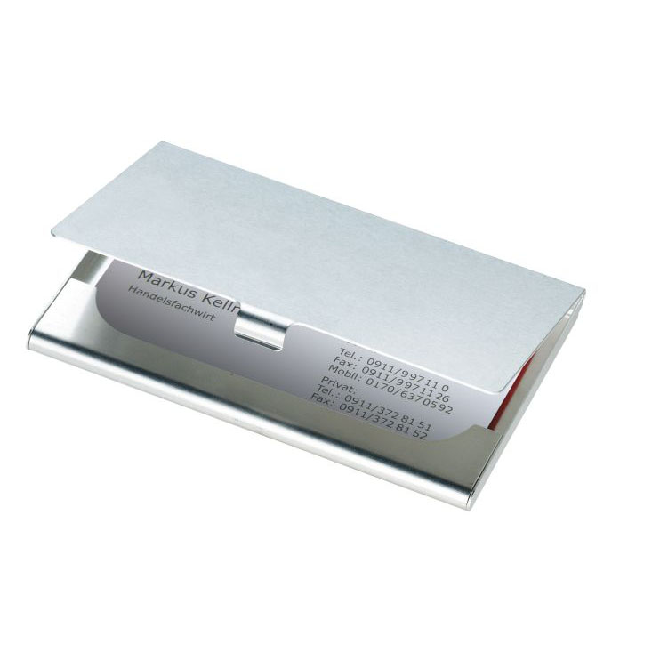 Port carti de vizita din aluminiu mat | 2222507