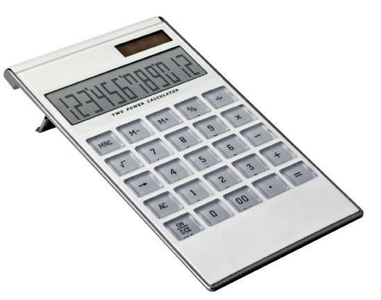 Calculator cu suprafata din plastic transparent | 3361006