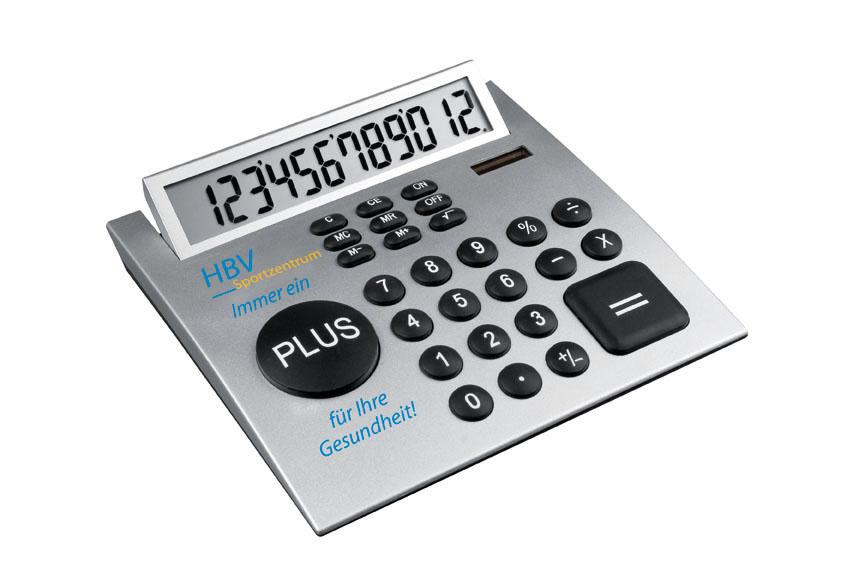 Calculator cu design CrisMa cu mult spatiu | 3500407
