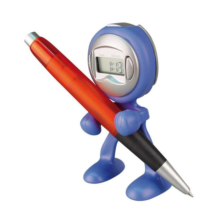 Ceas mic flexibil cu functie de alarma, albastru | 4101904