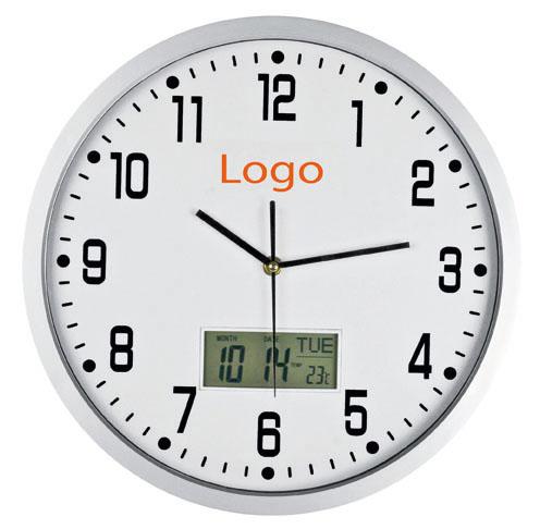Ceas perete cu calendar si termometru.  | 4124006
