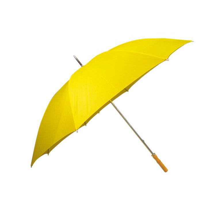 Umbrela cu maner drept din lemn si varf metalic | 4519008