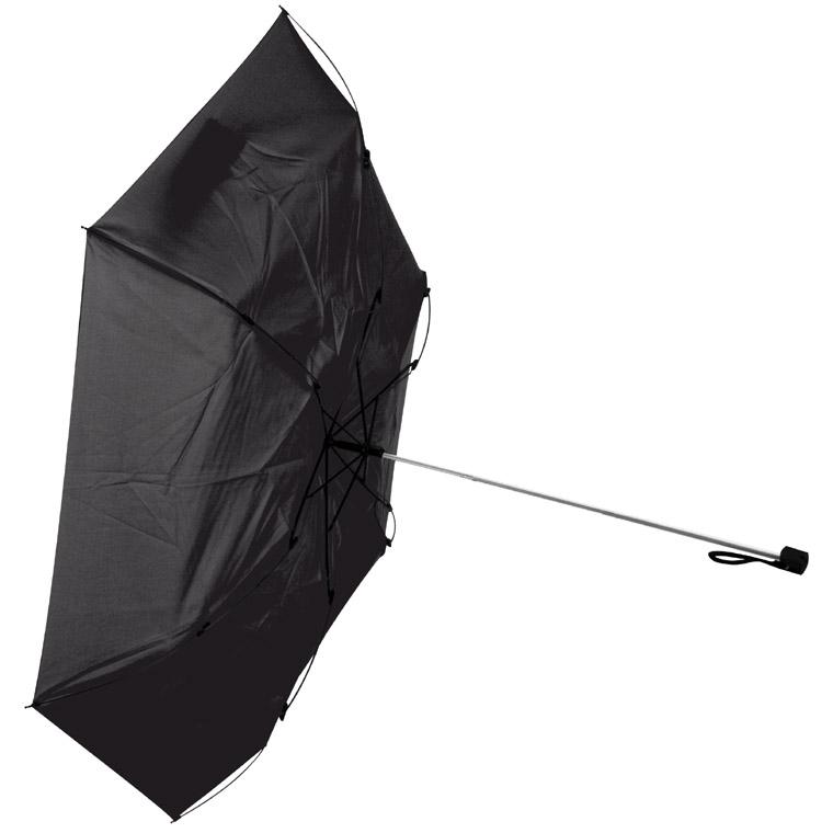 Umbrela pliabila mini, rezistent, cu mâner cauciucat in husa. ; cod produs : 4753003