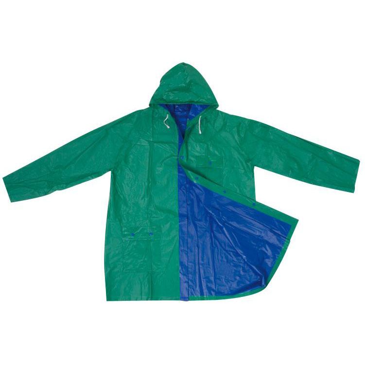 Pelerina de ploaie reversibila din PVC cu patenti si capison; cod produs : 4920549