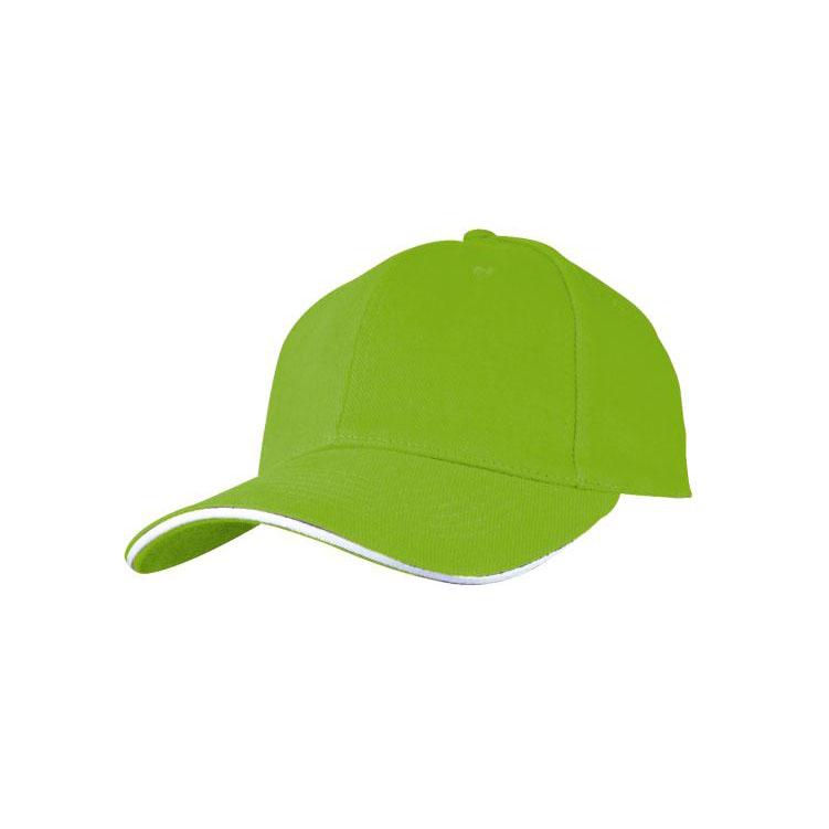 "Sapca baseball \""SANDWICH\"" verde deschis;5046629"