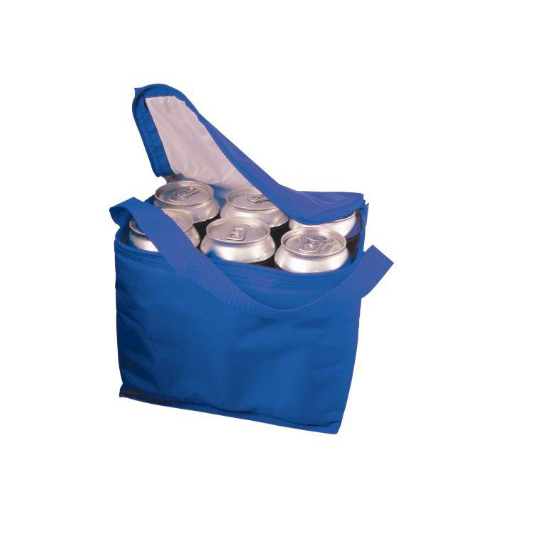 Geanta frigorifica din nylon, albastra | 6710404