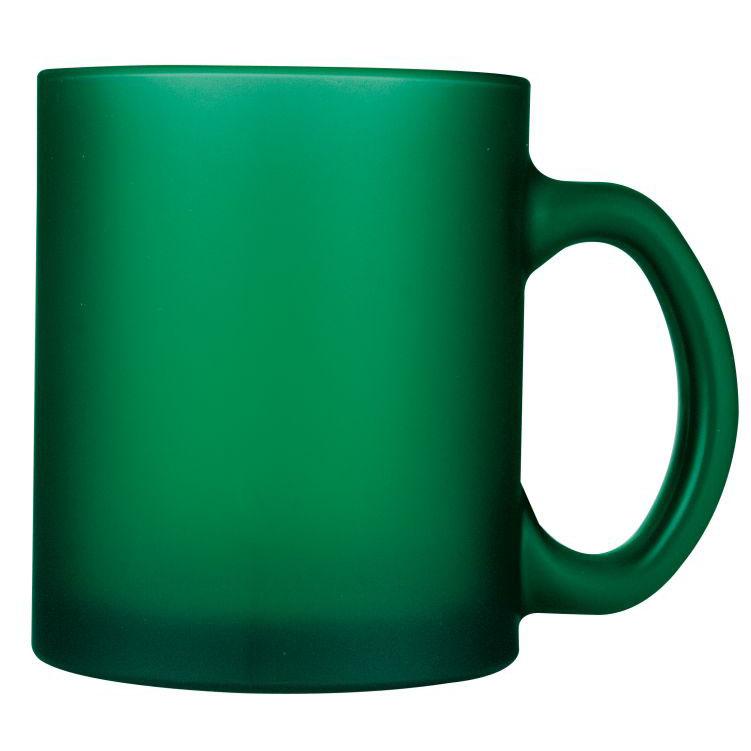 Cana pentru ceai si cafea de 300 ml din sticla sablata | 8201509