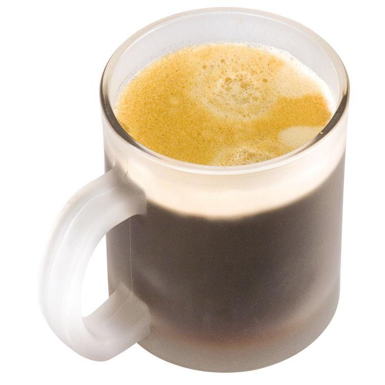 Cana pentru ceai si cafea din sticla sablata de 300 ml | 8798166