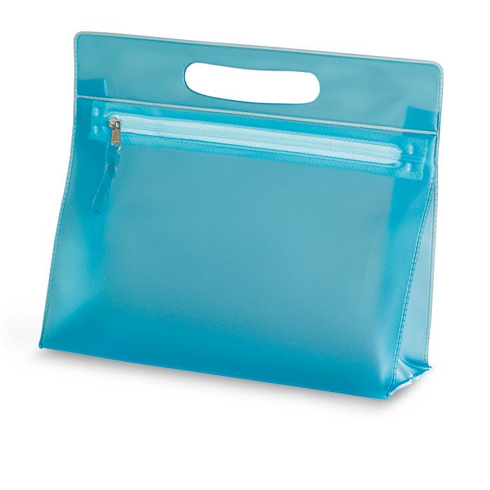 Trusa transparenta pentru cosmetice din PVC. | IT2558-04