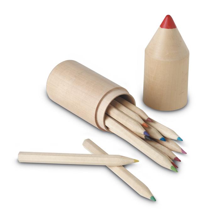 12 creioane din lemn ambalate | IT2691-40