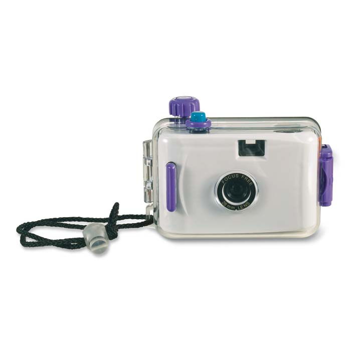 Aparat foto rezistent la apa, 35 mm, cu derulare manuala si telemetru;IT3107-06