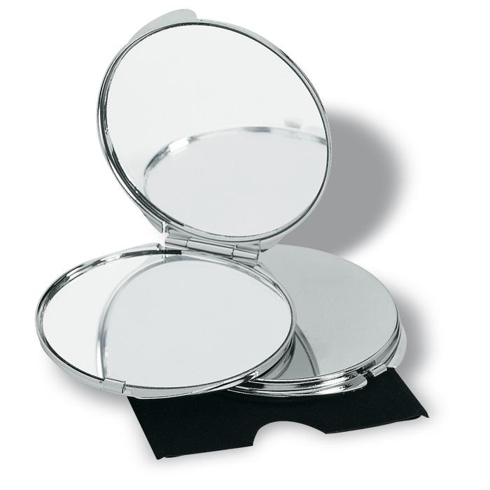 Doua oglinzi pentru machiaj simpla si care mareste in carcasa. | KC2204-17