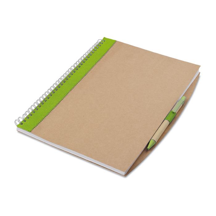 Bloc notes A4 cu 70 de pagini de hartie alba reciclabila | MO7171-48