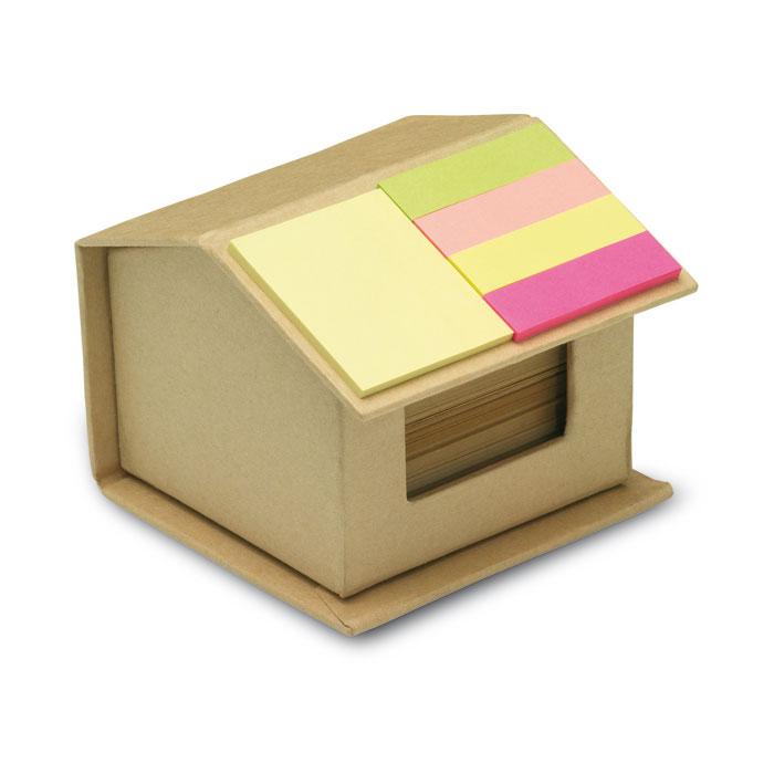 Cutie in forma de casa din carton reciclat | MO7304-13