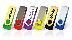 Stickurile USB in campaniile promotionale