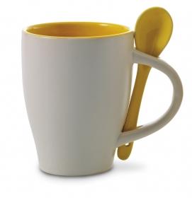 Ceaşcă cafea cu linguriţă | 2855-06