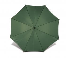 Umbrelă Classical cu băţ şi mâner din lemn, automată, verde;4070-04