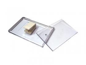 Ecuson transparent cu clips | 4474