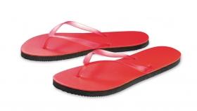 Papuci de plaja, rosii | 45035.20