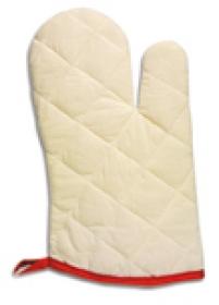 Manusa pentru cuptor, rosie / beige | 85003.20