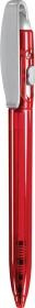 Pix Lecce X-Three, rosu transparent, clips argintiu;22367