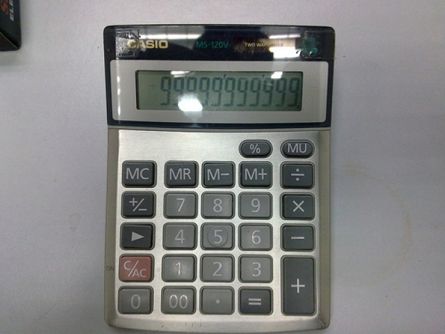 Calculator Casio   MS-120V