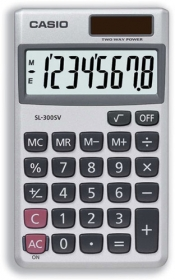 Calculator Casio;SL-300V