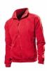 Jacheta fleece Stedman barbat, rosie aprins; cod produs : ST5000_SR