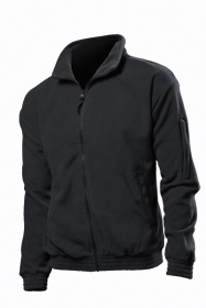 Jacheta fleece Stedman barbat, negru opal;ST5000_BO