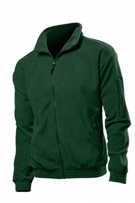 Jacheta fleece Stedman barbat, verde Bottle | ST5000_BG