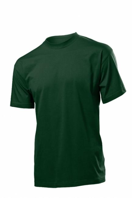 Tricou Stedman clasic barbat, verde Bottle | ST2000_BG