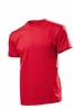 Tricou Stedman Comfort barbat, rosu aprins; cod produs : ST2100_SR