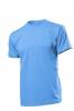 Tricou Stedman Comfort barbat, albastru deschis; cod produs : ST2100_LB