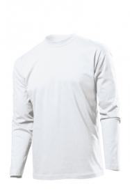 Tricou cu maneca lunga Stedman clasic barbat, alb | ST2500_WH