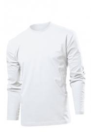 Tricou cu maneca lunga Stedman Comfort barbat, alb | ST2130_WH