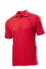 Tricou Stedman polo barbat, rosu aprins; cod produs : ST3000_SR