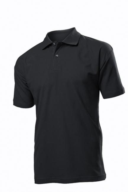 Tricou Stedman polo barbat, negru opal | ST3000_BO