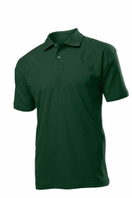 Tricou Stedman polo barbat, verde Bottle;ST3000_BG