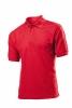 Tricou Stedman polo 65/35, rosu aprins; cod produs : ST3300_SR