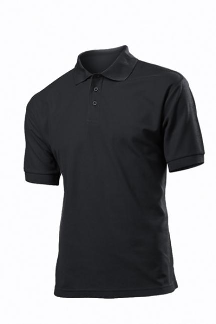 Tricou Stedman polo 65/35, black opal | ST3300_BO