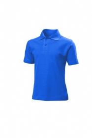 Tricou Stedman polo copii, albastru Royal;ST3200_BY