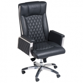 Ferraghini office chair with broad arm rest | F20103