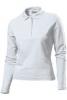 Tricou Hanes Polo Long Sleeve, alb; cod produs : HAG139_WH