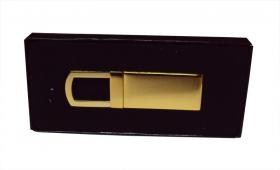 Breloc metalic auriu;2088
