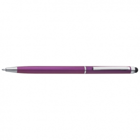 Plastic ball pen with touch function;1878612