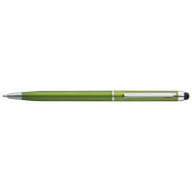 Plastic ball pen with touch function;1878629