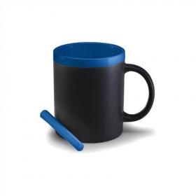 Cana ceramica cu creta, albastra | 2880-23