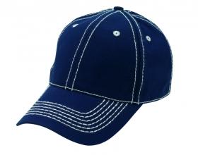 Contrast stitch accent cap | 38099.52