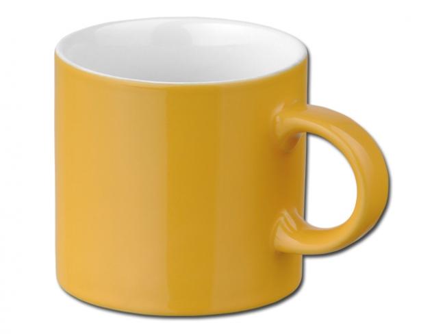 Cana din ceramica, galbena | 04280-80
