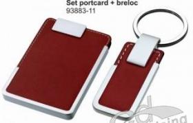 Set portcard + breloc | 93883-11